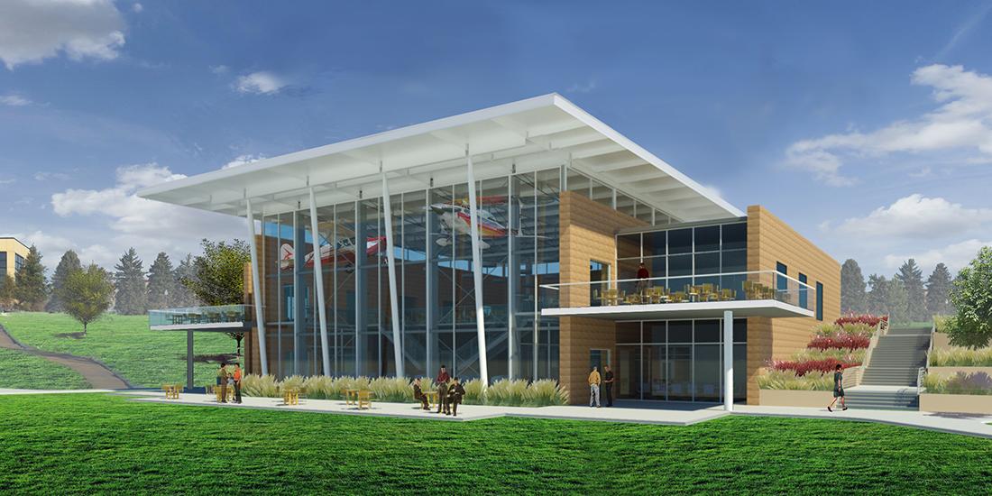 student center groundbreaking image