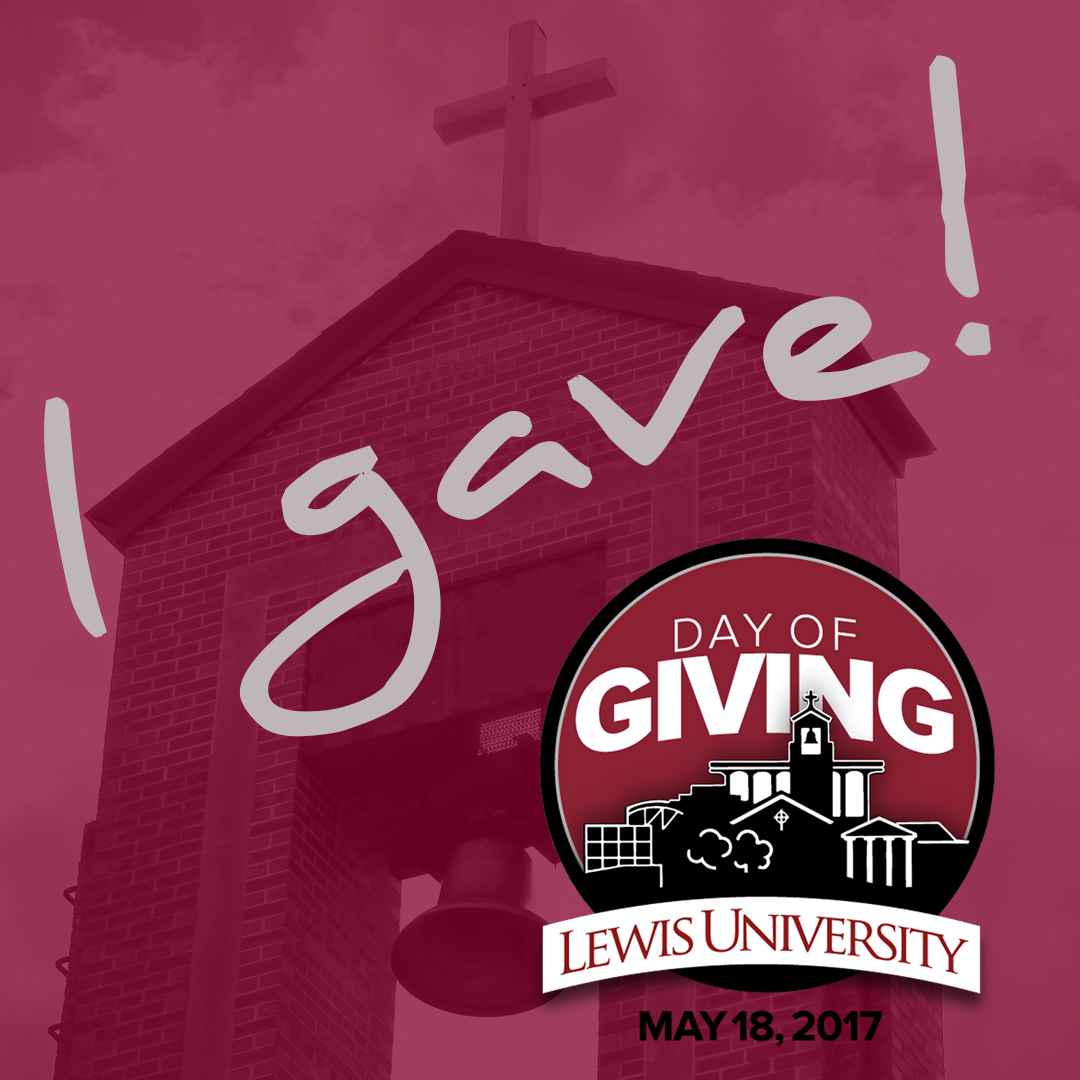 spread the word - lewis university day of giving - lewis university
