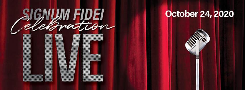 Signum Fidei Live Header